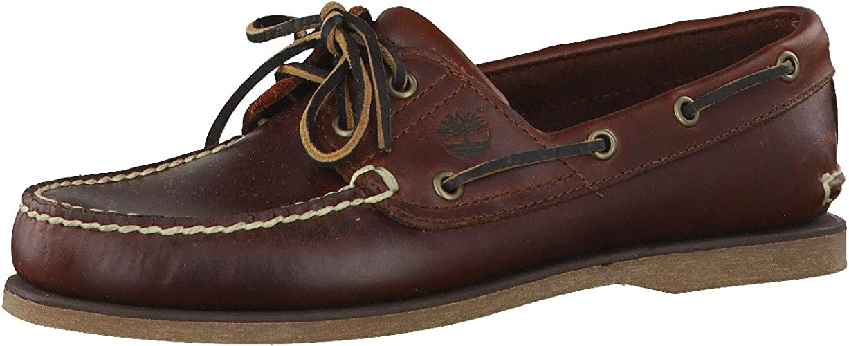 giornale bacetto Glorioso  Amazon.com | Timberland Men's Classic 2-Eye Boat Shoe | Loafers & Slip-Ons