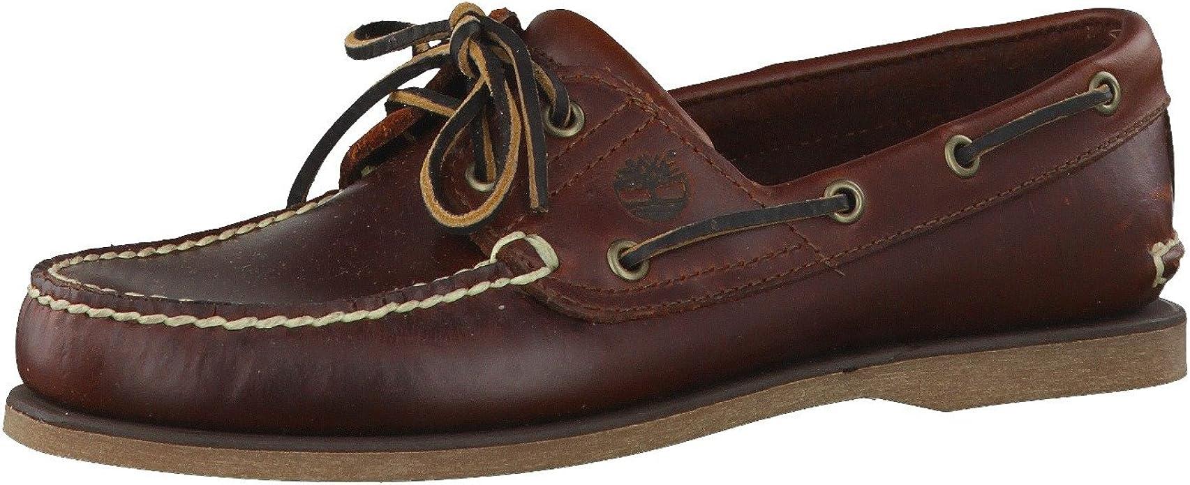 a pesar de escocés trabajo  Amazon.com | Timberland Men's Classic 2-Eye Boat Shoe | Loafers & Slip-Ons