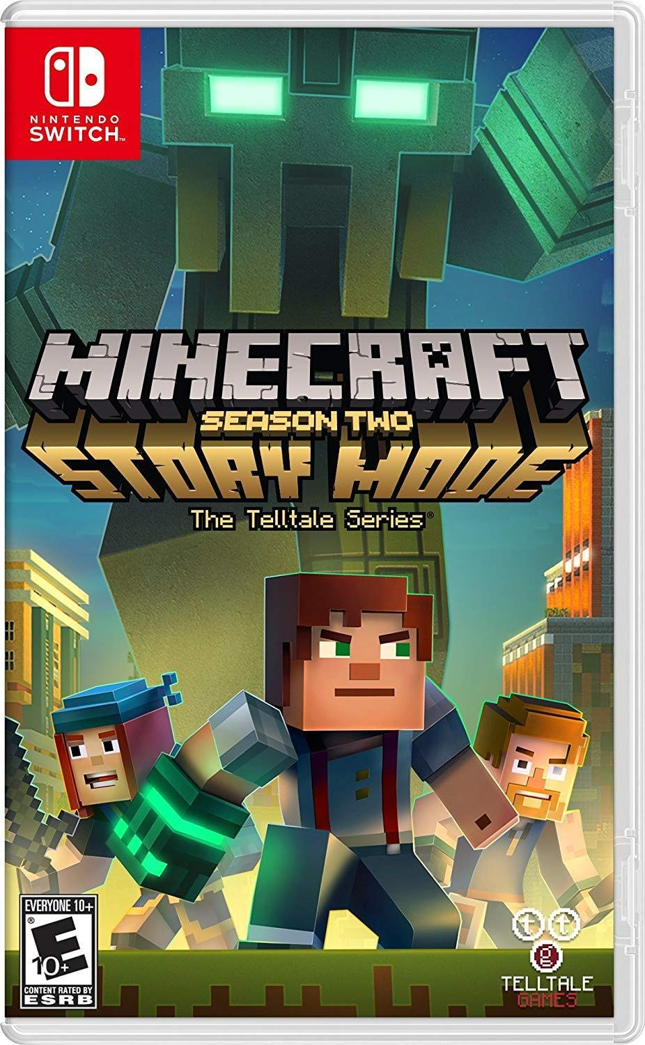 Amazon Com Minecraft Story Mode Season 2 Nintendo Switch Ui Entertainment Video Games