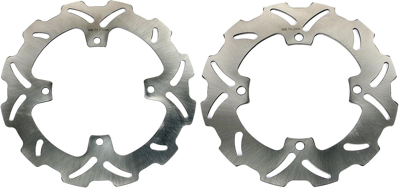 TARAZON Front Rear Brake Discs Rotors for Honda CR80 R RB 1996-2002 CR85 R 2003-2007 CRF150 R