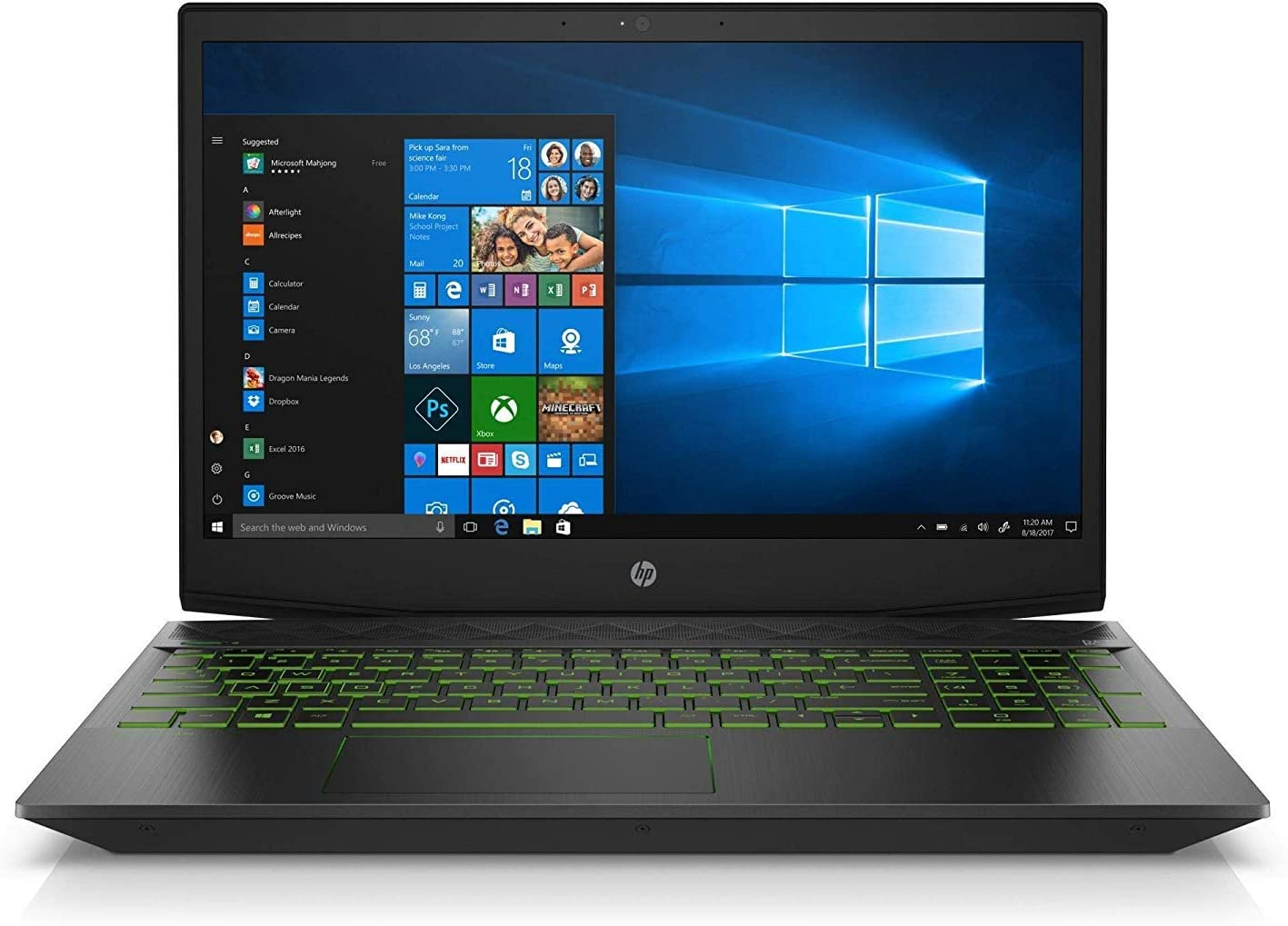 HP Pavilion 2019 Flagship 15.6'' Full HD Gaming Laptop, Intel Quad-Core i5-8300H up to 4GHz 4GB DDR4 128GB SSD 4GB NVIDIA GeForce GTX 1050 Ti Backlit Keyboard Bluetooth 5.0 Win 10