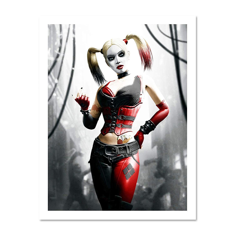 Amazon.com: Character de cómics Harley Quinn Póster De ...