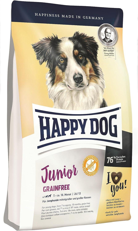Happy Dog Junior Grain Free Comida para Perros - 10000 gr