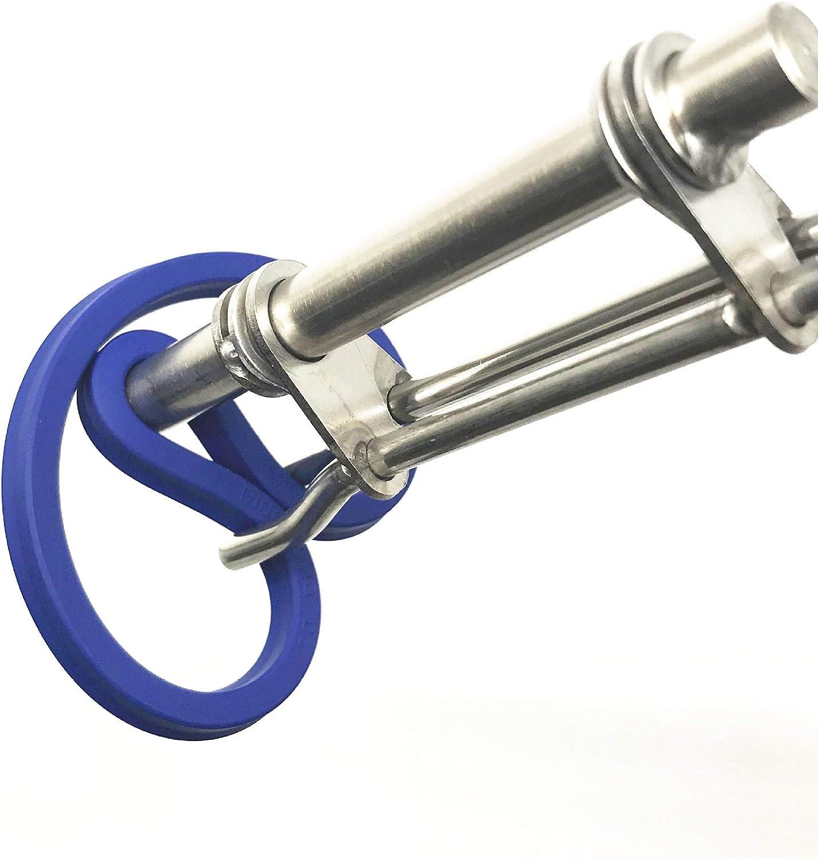 3Pcs S//M//L Steel Hydraulic Cylinder Piston Rod Installation Tools 25-40MM