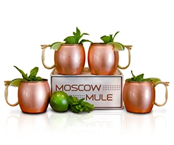 Craft Cocktails Handmade Copper Moscow Mule Mugs