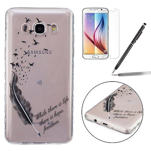 4 opinioni per Custodia Samsung Galaxy J5 2016, Cover Samsung Galaxy J5 2016 in Silicone, Felfy