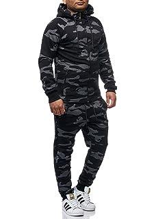 2d8e756befb60 Raff Taff Sportanzug Trainingsanzug Freizeitanzug Camouflage Hoodie ...