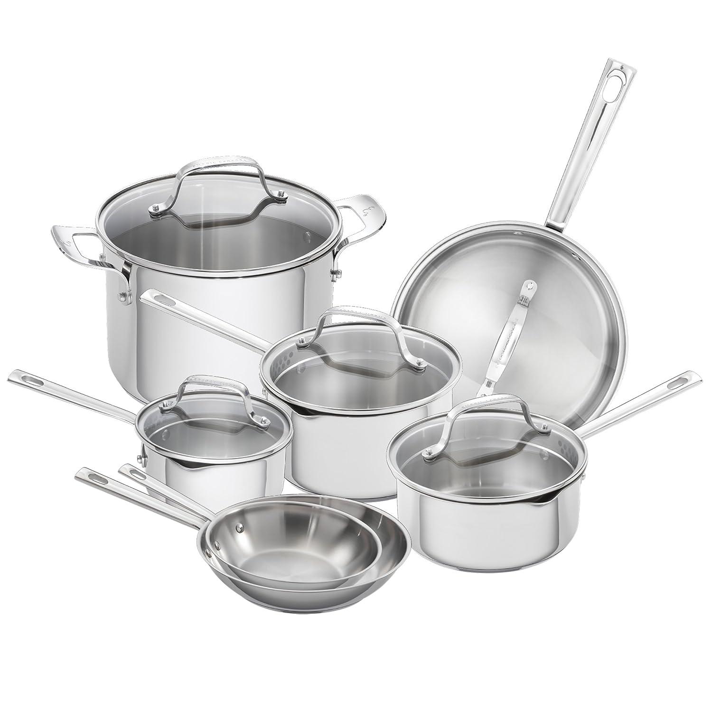 Emeril Lagasse 62950 Emeril cookware set Silver