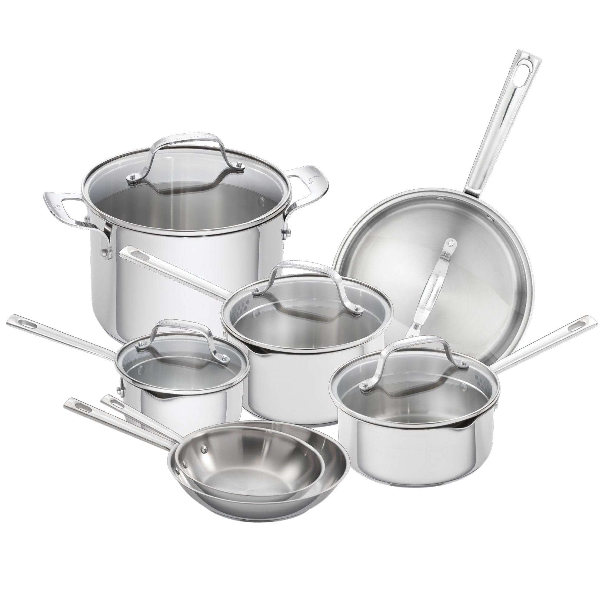Emeril Lagasse 62950 Emeril cookware set, Silver