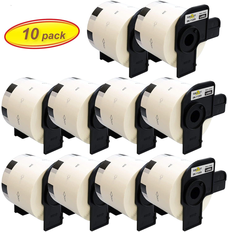 Gelb Yeti 10x DK-11209 29 29 29 x 62mm Adress-Etiketten kompatibel für Brother P-Touch QL-500 QL-570 QL-700 QL-710W QL-720NW QL-800 QL-810W QL-820NWB QL-1050 QL-1060N QL-1100 QL-1110NWB   800 Stück Rolle B07NLDWLDC | Qualität Produkt  2f5511