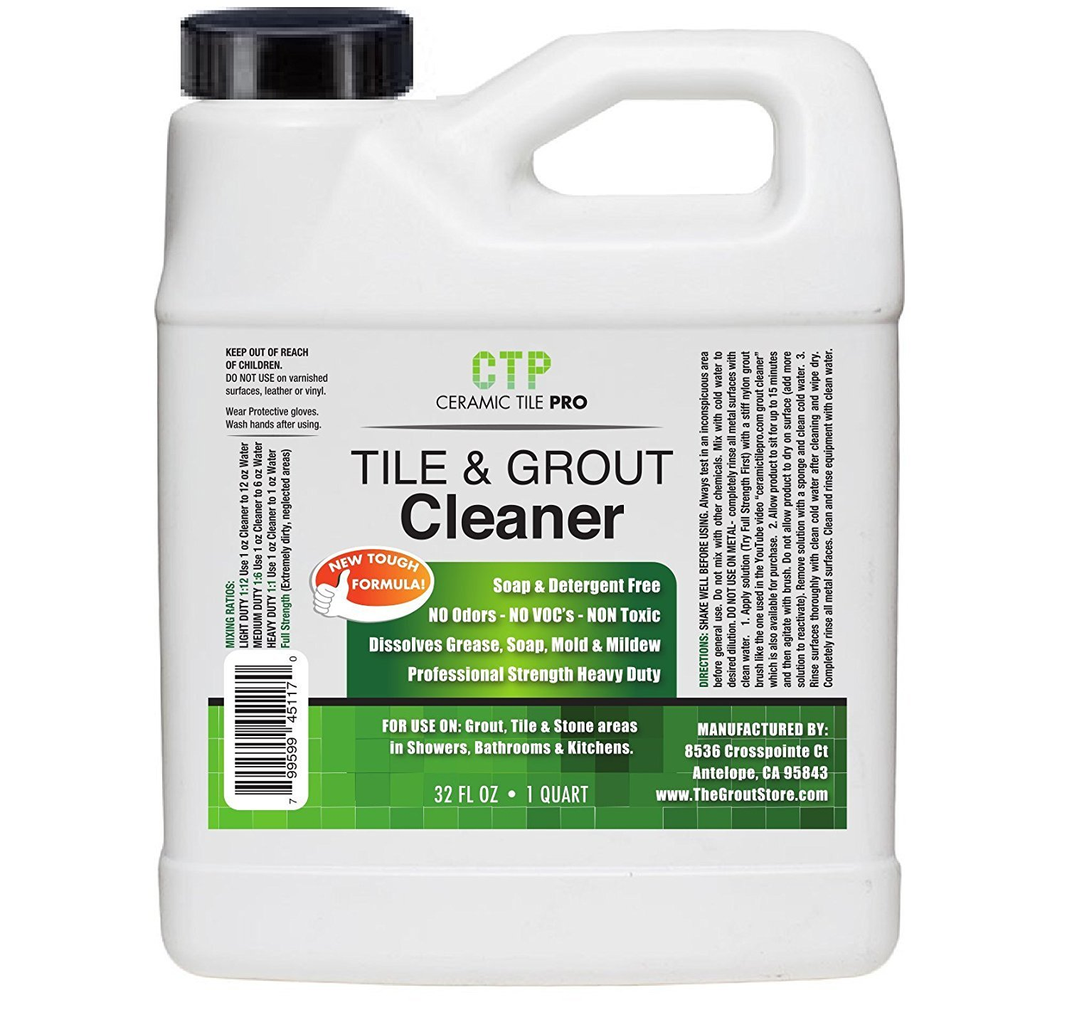 Amazon ceramic tile pro tile grout cleaner 32 oz home amazon ceramic tile pro tile grout cleaner 32 oz home improvement dailygadgetfo Gallery