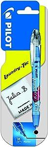Pilot Laundry Tec Fabric Marker 1.0 mm Tip - Black, Single Pen