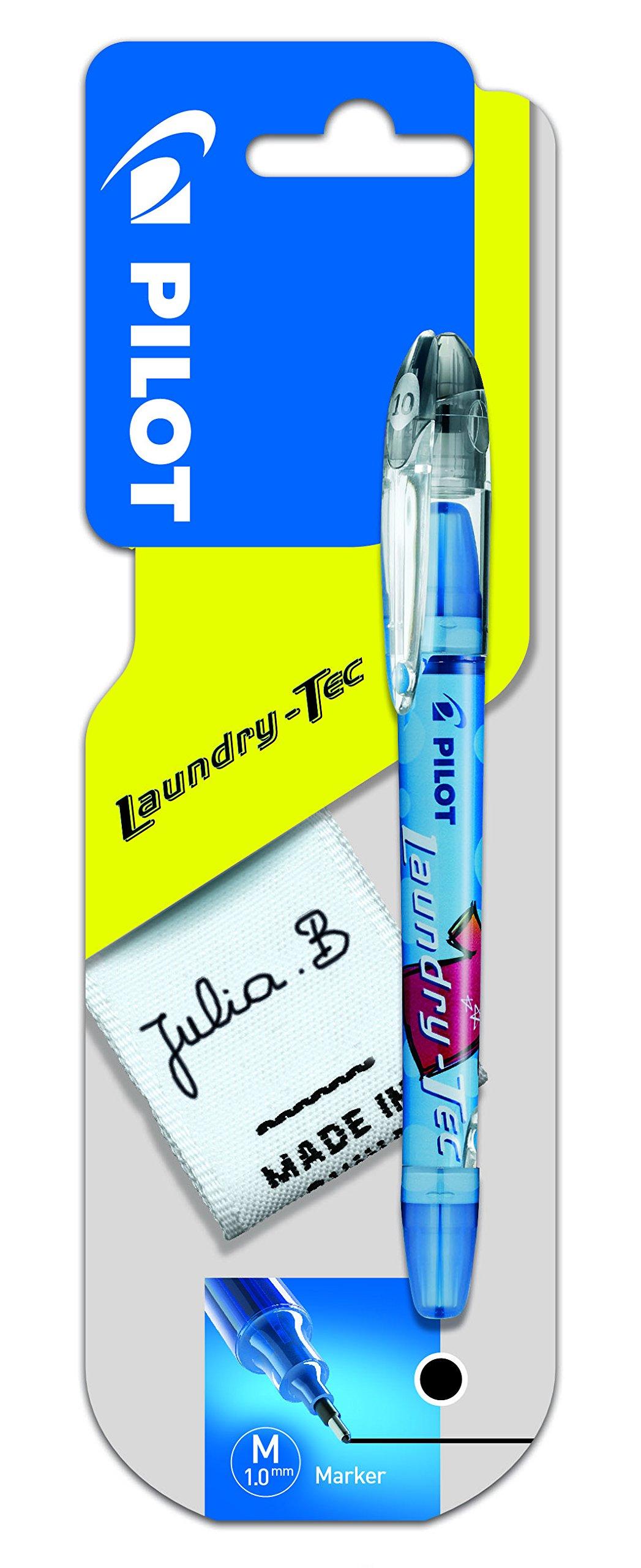 Pilot Laundry Tec Fabric Marker 1.0 mm Tip - Black, [0FA2FQSY]