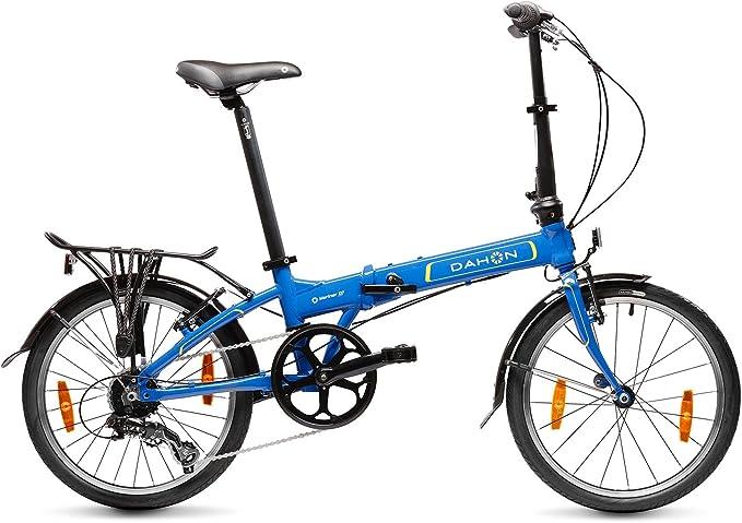 Dahon Mariner D7 Bicicleta Plegable, Unisex Adulto, Azul ...