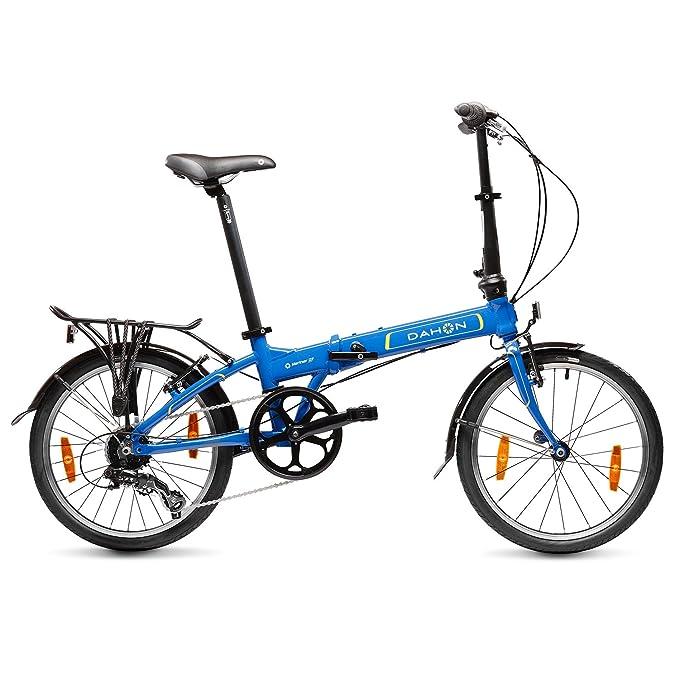 Dahon Mariner D7 Bicicleta Plegable, Unisex Adulto, Azul Ultramarine, 20