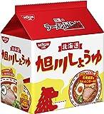 日清のラーメン屋さん 旭川しょうゆ 5食パック 445g ×6袋