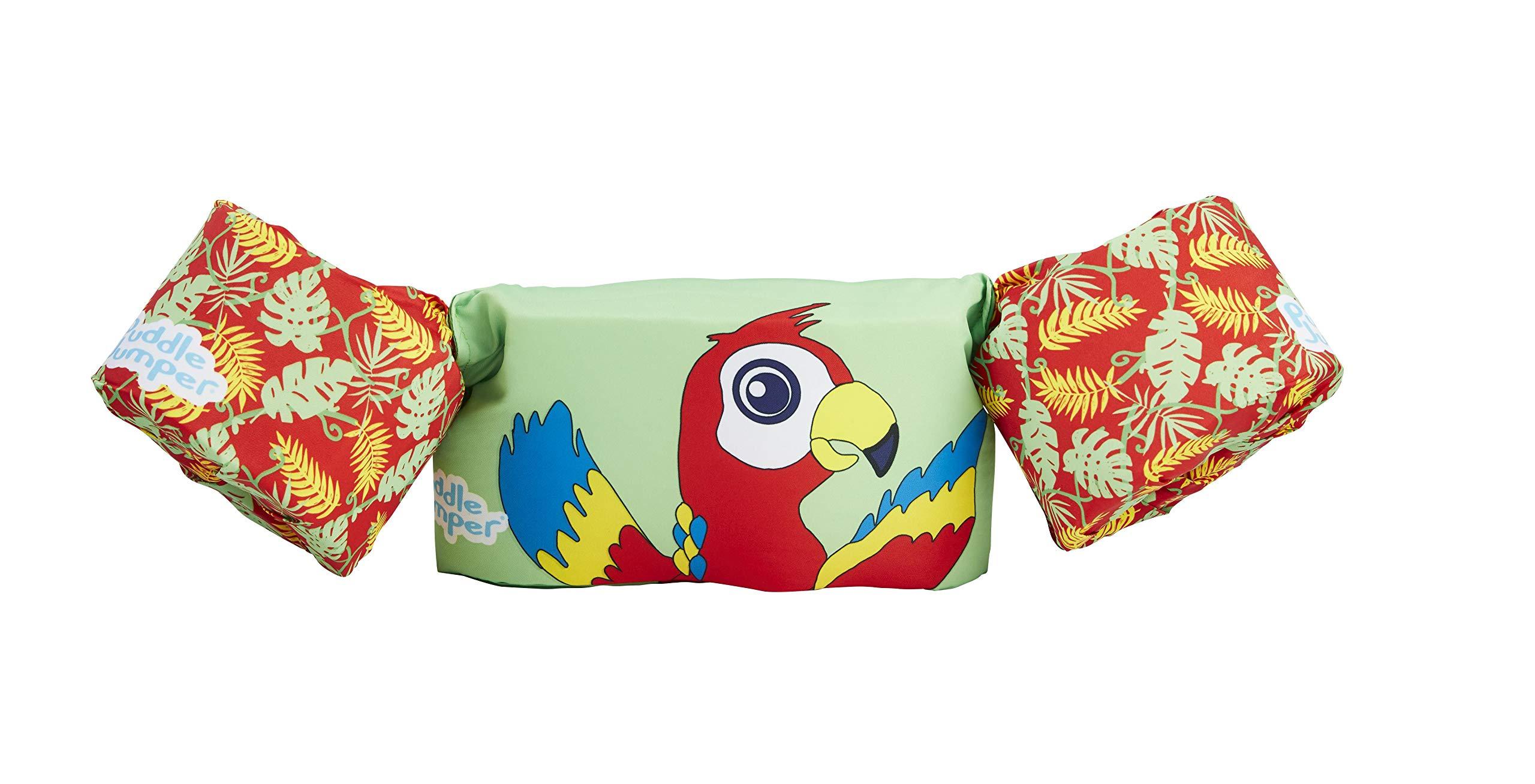 Stearns Puddle Jumper Kids Life Jacket | Life Vest for Children, Parrot, 30-50 Pounds