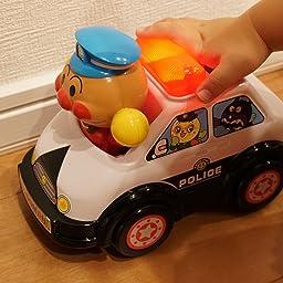 Amazon アンパンマン おしゃべりパトカー リニューアル ミニカー ダイキャストカー おもちゃ