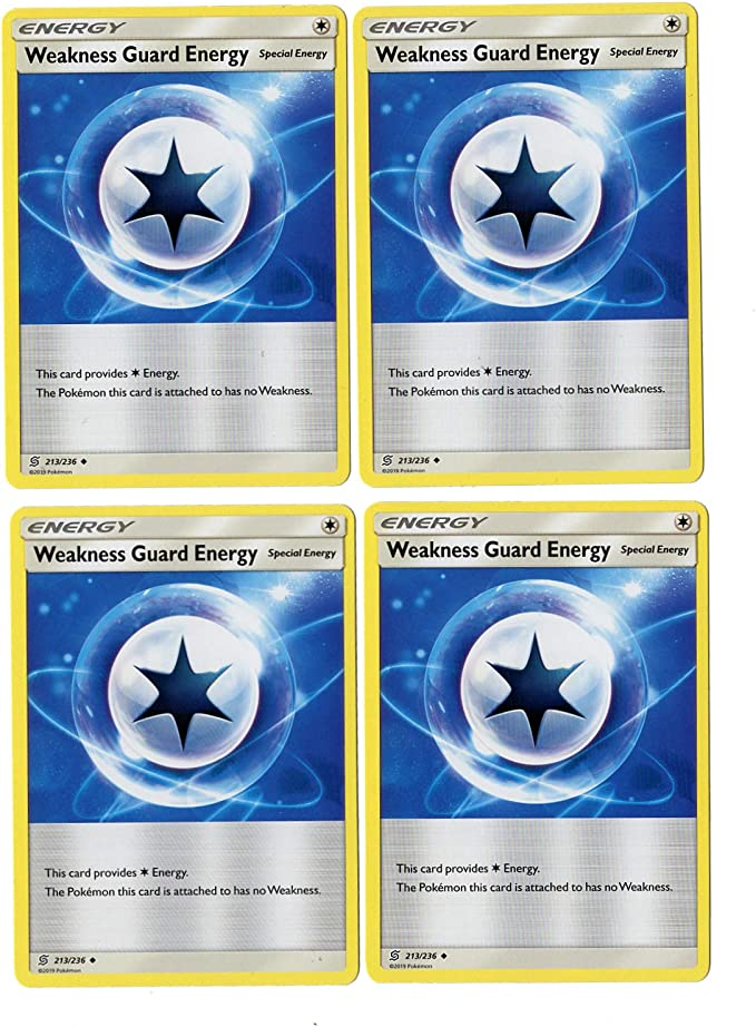 SM UNIFIED MINDS WEAKNESS GUARD ENERGY 213//236 UNCOMMON Pokemon