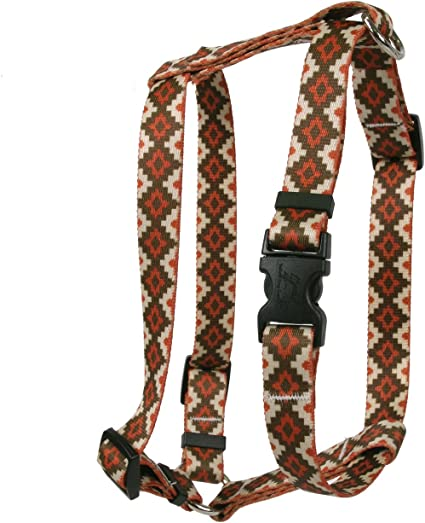 Yellow Dog Design American Argyle Roman Style H Dog Harness