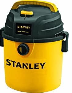Stanley Wet/Dry Vacuum, 2.5 Gallon, 3 Horsepower