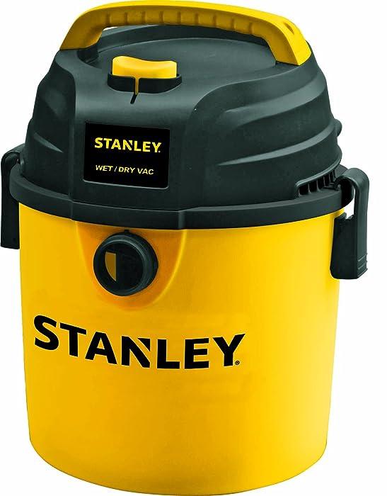 Stanley Wet/Dry Vacuum, 2.5 Gallon, 3 Horsepower