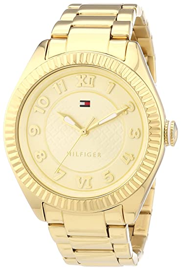 RELOJ TOMMY HILFILGER 1781345 MAXI CHAP.ORO: Tommy Hilfiger: Amazon.es: Relojes