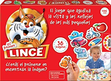 Oferta amazon: Educa Borrás-Mi Primer Lince, multicolor, 36 Imágenes (15676) , color/modelo surtido