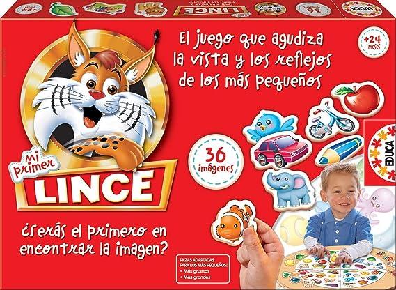 Educa Borrás-Mi Primer Lince, multicolor, 36 Imágenes (15676) , color/modelo surtido: Amazon.es: Juguetes y juegos