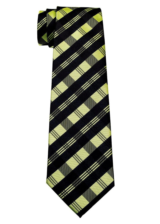 Cuadros Tartán tejido Boy 's Tie–8–10años–varios colores