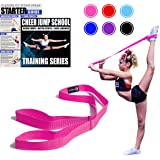 Cheerleading Flexibility Stunt Strap - Improve Stretching and Perfect Stunts for Cheer, Dance, and Gymnastics - Digital Train