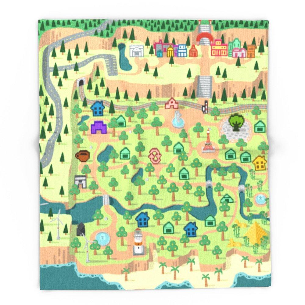 Society6 Animal Crossing (どうぶつの 森) 88'' x 104'' Blanket