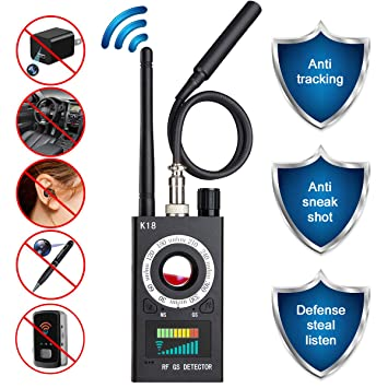 Amazon.com: Anti Spy Camera Detector, RF Signal Bug Detector ...