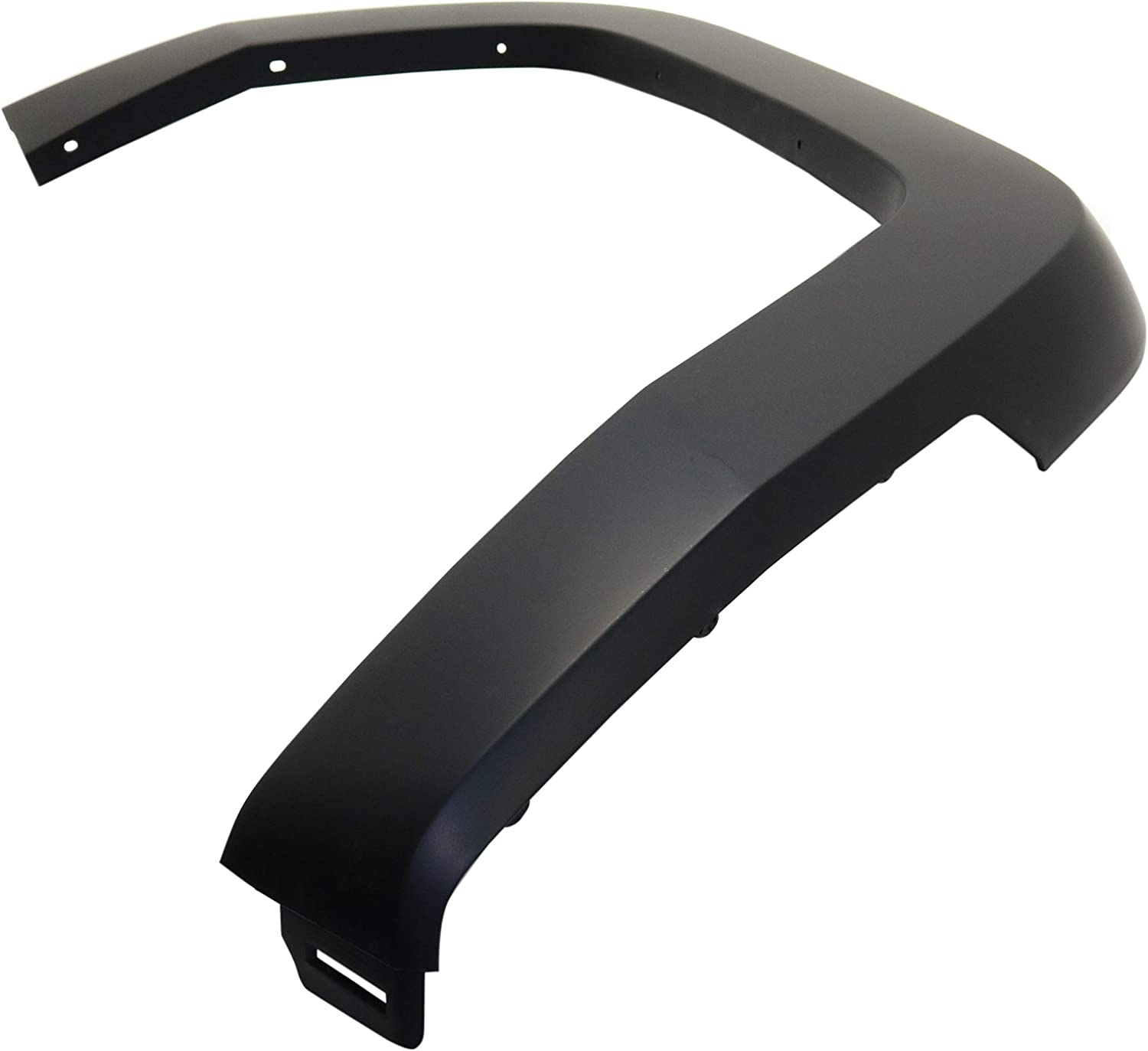 Front Fender Flares Compatible with JEEP COMMANDER 2006-2010 RH Primed Standard Flare Clip On type