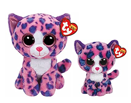 Amazon.com  Ty Beanie Boos Plush Reagan the Cat Gift Pack (9