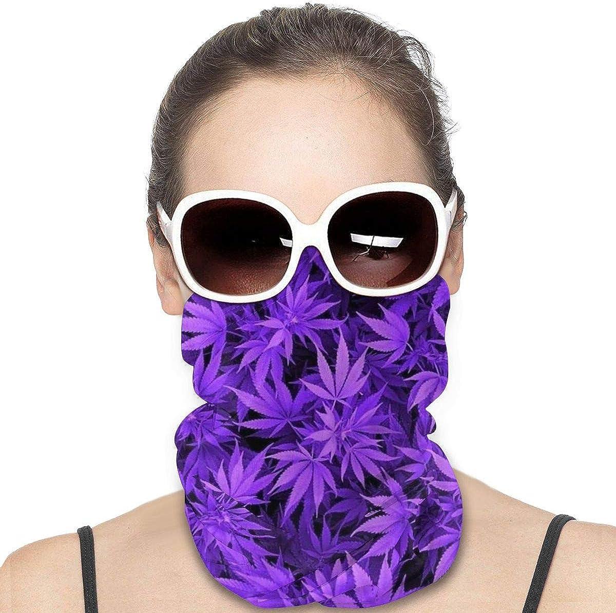 Marihuana - Protector de cara con hojas de hierba y cortavientos, multiusos, bandana, pasamontañas para el cuello