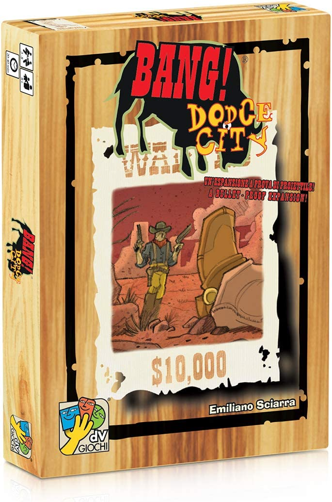Bang DA VINCI Davinci Editrice S.r.l Dodge City Card Game