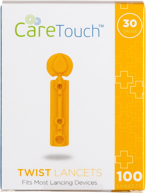 Care Touch Twist Top Lancets 30 Gauge, 300 Lancets: Health & Personal Care