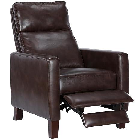 Amazon.com: Dorel Asia dl7555 Jillian reclinable, coñac ...