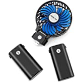 OPOLAR 10400mAh Battery Operated Fan, Portable Handheld Fan with 10-40 Hours Working Time,3 Setting, Strong Wind…