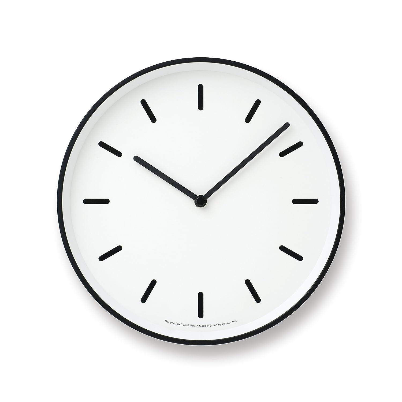 Lemnos MONO Clock ホワイト LC10-20B WH B004UIT8CYホワイト