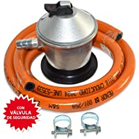 S&M Kit Regulador de Gas Butano/Propano con Válvula