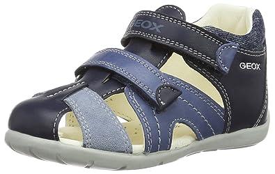 Geox B Kaytan C, Chaussures Bébé Marche garçon, Bleu (Navy Lt Bluec0693 49a72ec31156