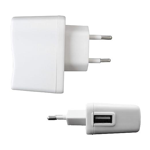 CARGADOR PARA USB 220-240V (SALIDA 1A/5V): Amazon.es ...
