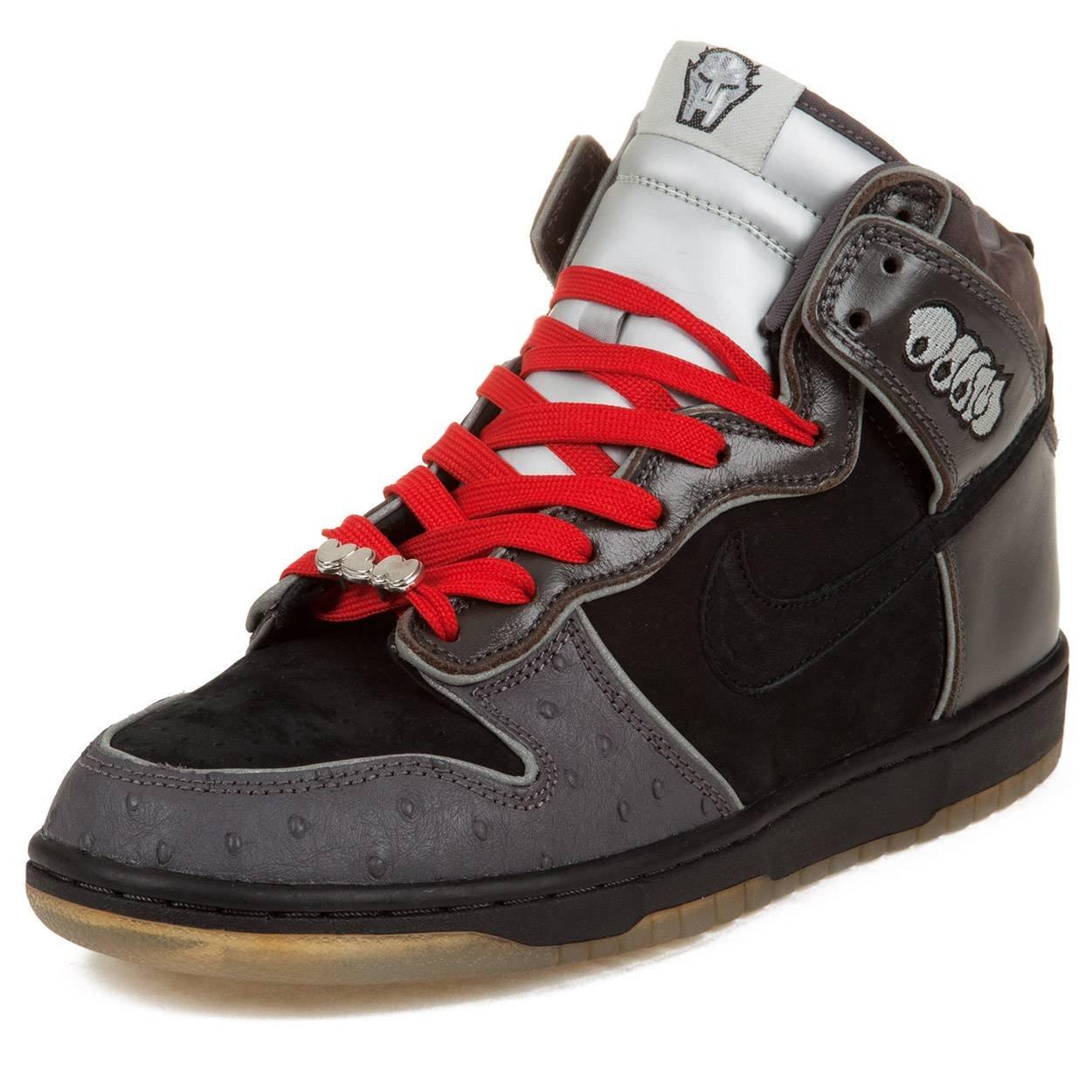 best service 95680 2fb2b Amazon.com | Nike Mens Dunk High Pemium SB MF Doom Black ...