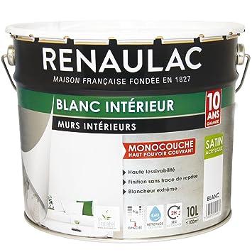 Renaulac Peinture Intérieur Murs Plafonds Monocouche Acrylique