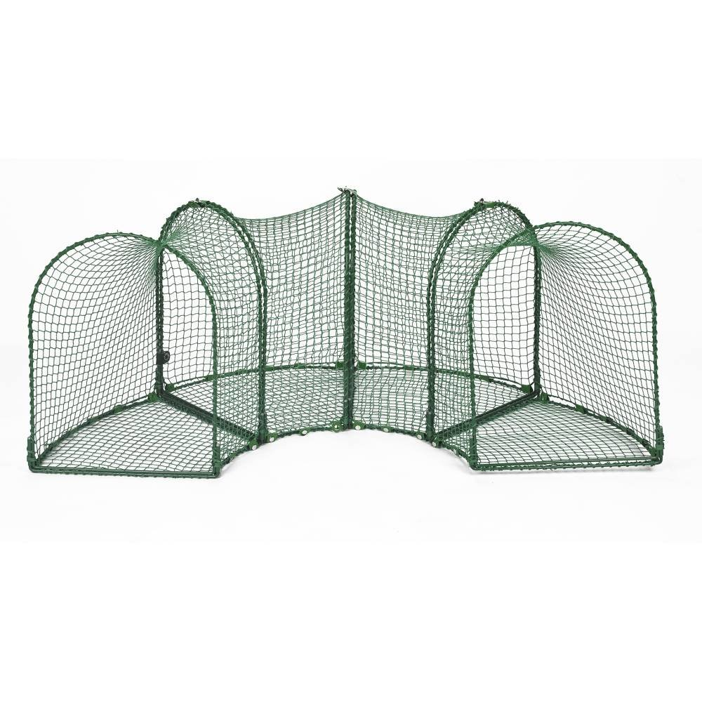 Curves (4) Outdoor Cat Enclosure - Green