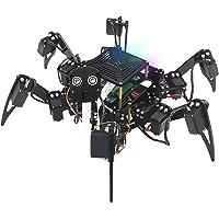 Freenove Big Hexapod Robot Kit for Raspberry Pi 4 B 3 B+ B A+, Walking, Self Balancing, Live Video, Face Recognition…