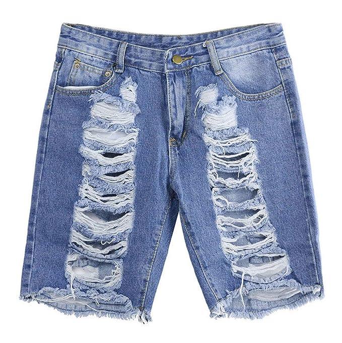 GUCIStyle Mujeres De Cintura Alta Casual Denim Pantalones ...