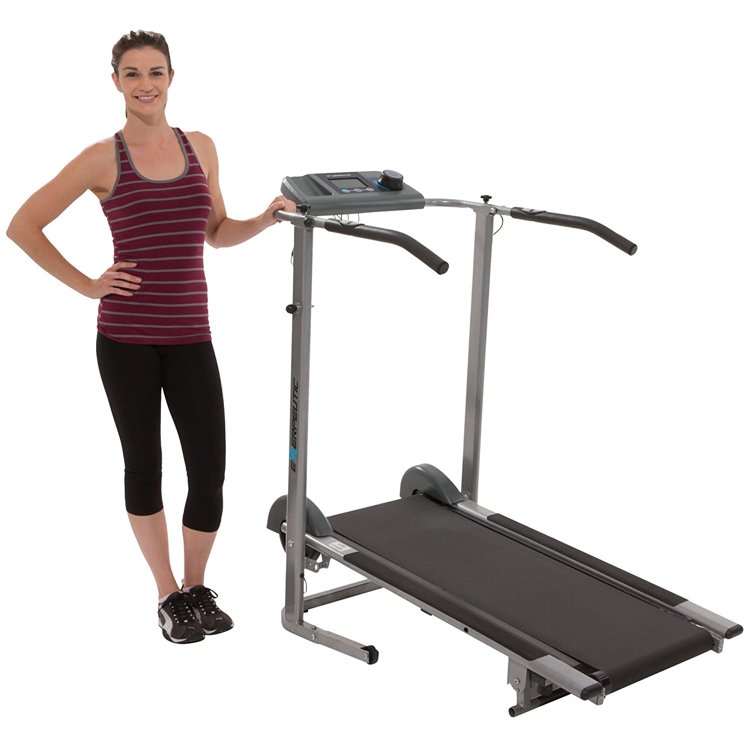 Exerpeutic-100XL-High-Capacity-Magnetic-Resistance-Manual-Treadmill